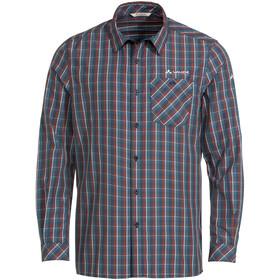 VAUDE Albsteig LS Shirt II Men, azul/rojo